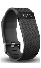 Montre FitBit Charge HR L Noir