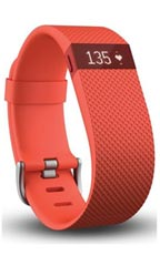 Montre FitBit Charge HR L Orange