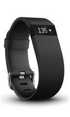 Montre FitBit Charge HR S Noir
