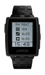 Pebble Steel Noir