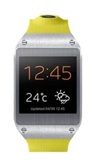 Montre Samsung Galaxy Gear Jaune