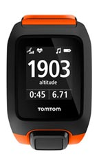 Montre TomTom Adventurer Cardio + Music Orange