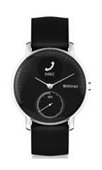 Montre Withings Steel HR 36mm Noir