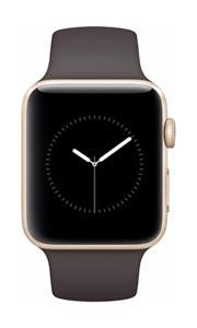 Apple Watch 2 Alu Or 42mm Bracelet Sport Cacao