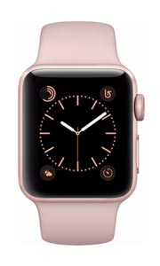 Apple Watch 2 Alu Or Rose 38mm Bracelet Sport Rose
