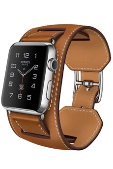 Apple Watch Hermès Manchette 42mm Marron