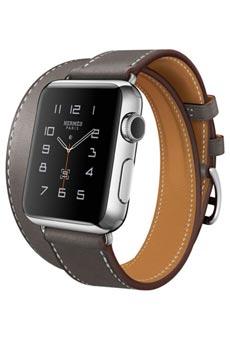 Apple Watch Hermès Double Tour 38mm Gris