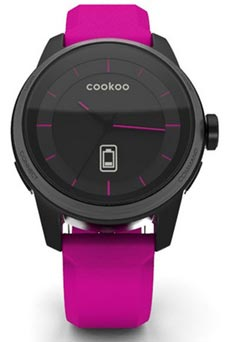 Cookoo Watch Noir et Rose