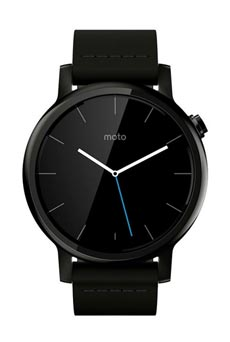 Motorola Moto 360 2ème génération Noir