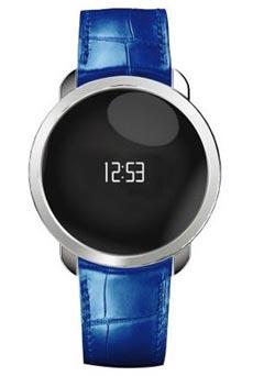 MyKronoz ZeCircle Premium Bleu et Gris