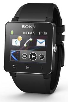 Sony SmartWatch 2 Silicone Noir
