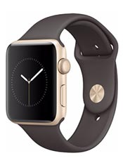 Apple Watch 2 Alu Or 42mm Bracelet Sport Cacao