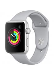 Apple Watch 3 Nike+ GPS Alu 42mm Bracelet Sport Argent