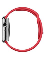 Apple Watch Acier 42mm Bracelet Sport Rouge