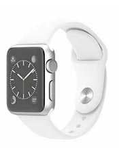 Apple Watch Sport Aluminium 38mm Blanc