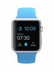Apple Watch Sport Aluminium 42mm Bleu