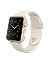 Apple Watch Sport Aluminium Or 38mm Blanc Antique