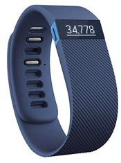 FitBit Charge HR L Bleu