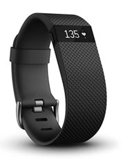 FitBit Charge HR S Noir