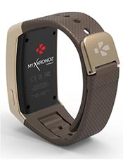 MyKronoz ZeWatch 3 Marron et Or