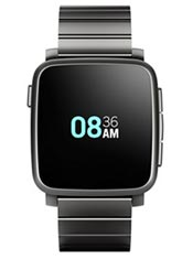 Pebble Time Steel Noir