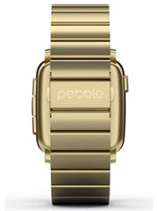 Pebble Time Steel Or