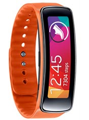 Samsung Gear Fit Orange