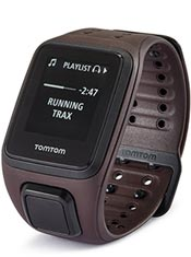 TomTom Spark Music Large Marron