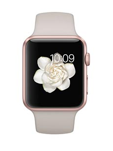 apple watch sport aluminium or rose 42mm gris sable pas. Black Bedroom Furniture Sets. Home Design Ideas