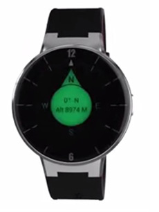 Alcatel One Touch Watch Noir