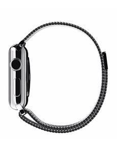 Apple Watch Acier 38mm Bracelet Milanais Gris