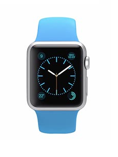 Apple Watch Sport Aluminium 38mm Bleu