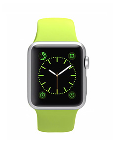 Apple Watch Sport Aluminium 38mm Vert