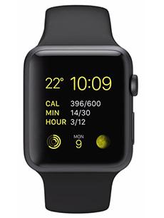 Apple Watch Sport Aluminium 42mm Noir
