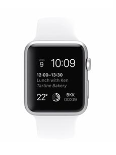 Apple Watch Sport Aluminium 42mm Blanc