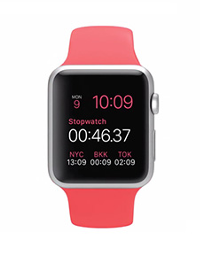 Apple Watch Sport Aluminium 42mm Rose