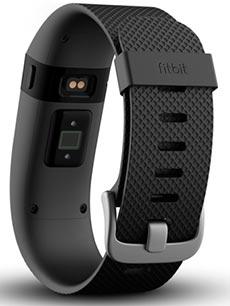 FitBit Charge HR L Noir