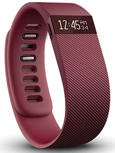 FitBit Charge L Bordeaux