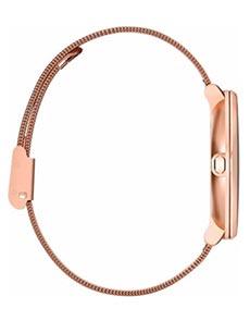 Pebble Time Round 14mm Bracelet Mesh Or Rose