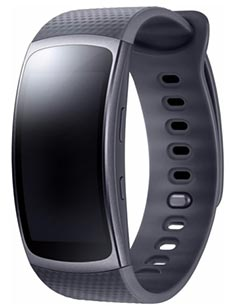 Samsung Gear Fit 2 L Noir