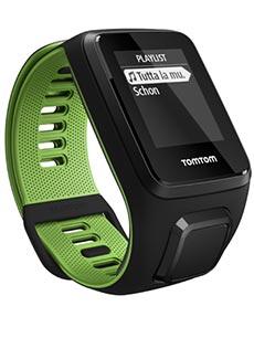 TomTom Runner 3 L Noir et Vert