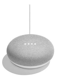Enceinte connectée Google Home Mini Blanc