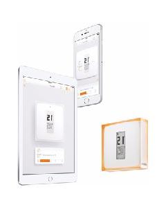 Thermostat connecté Netatmo Thermostat Blanc