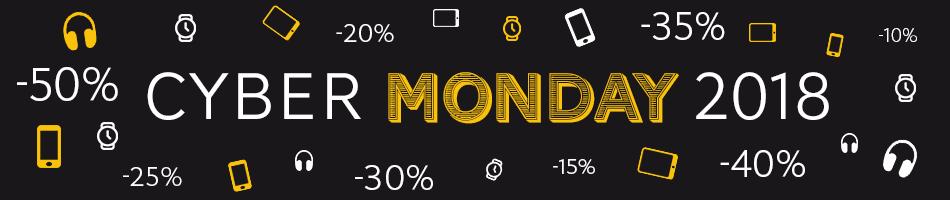Cyber Monday 2018 : Smartphones, Tablettes à prix cassés le 26 Novembre 2018