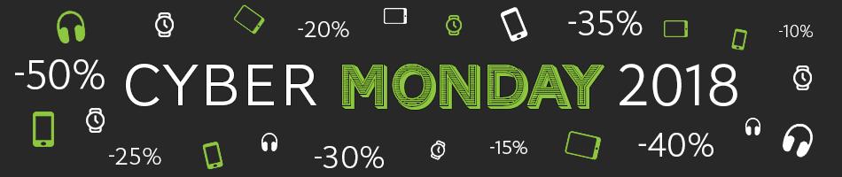 Cyber Week-end 2018 : Smartphones, Tablettes à prix cassés le 26 Novembre 2018 !