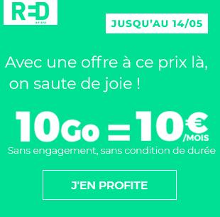 RED 10Go à 10 euros