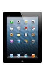 photo Apple iPad 4 Retina 128Go 3G Noir