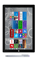 photo Microsoft Surface Pro 3 i7 512 Go Noir