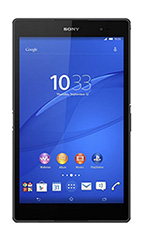 Tablette Sony Xperia Z3 Tablet Compact 16Go 4G  Noir