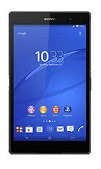 photo Sony Xperia Z3 Tablet Compact 16Go Wi-Fi Noir